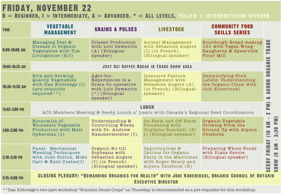 2013 Conference Master Planner Friday updated
