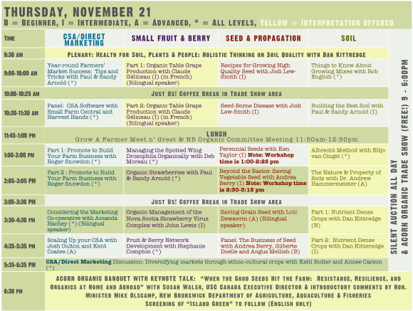 2013 Conference Master Planner Thursday updated